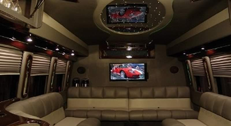 Luxury Motor Coach Interior